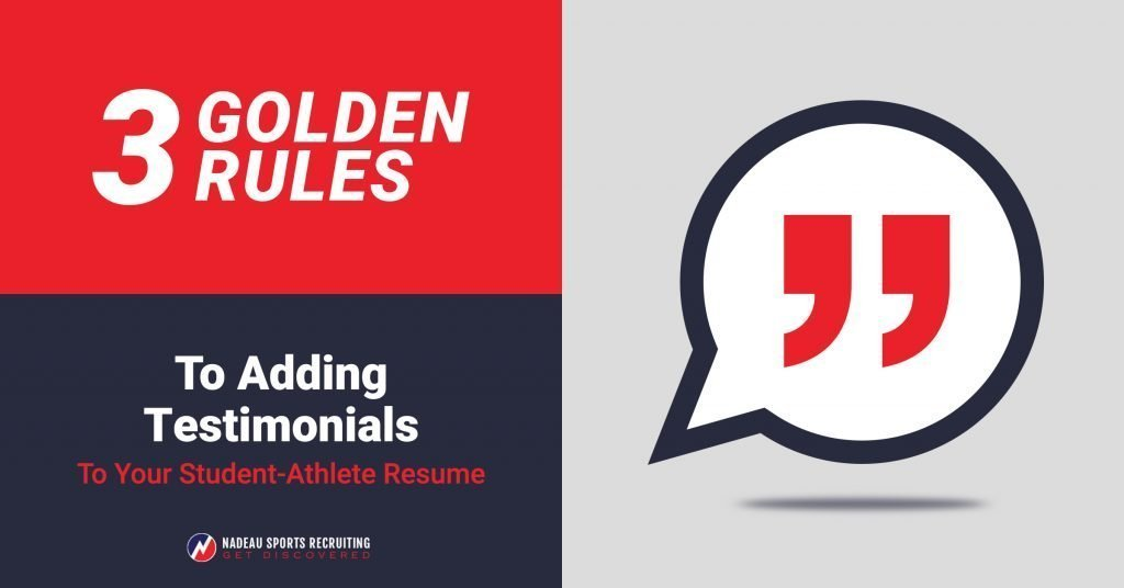 3 golden rules to adding testimonials to your student