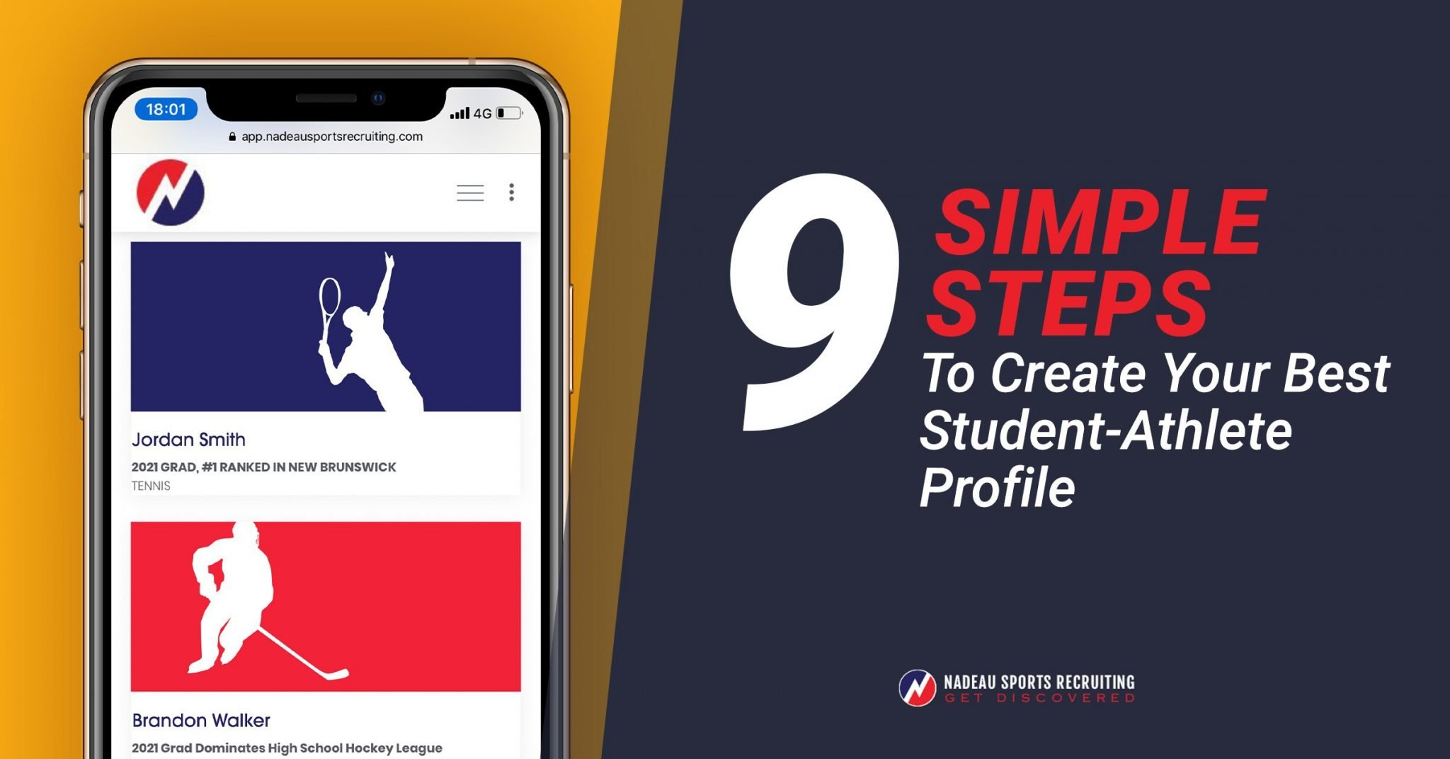9 Simple Steps To Create Your Best Student-Athlete Profile ...